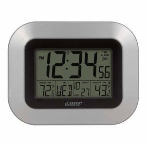 La Crosse Technology WS-8115U-S Reloj Digital de Pared